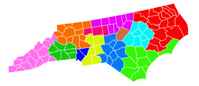North Carolina map-1